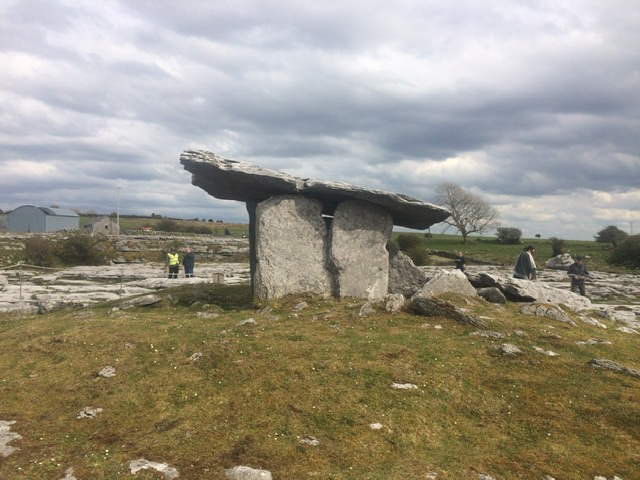 Poulnabrone Dolmen in The Burren National Park